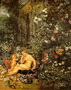 Jan Brueghel The Sense of Smell Spain oil painting reproduction