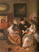 Jan Steen The Doctor's Visit oil painting picture wholesale