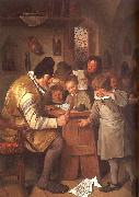 Jan Steen The Schoolmaster oil painting picture wholesale