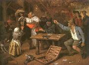 Jan Steen Card Players Quarreling oil painting picture wholesale