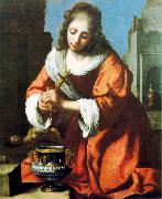 Jan Vermeer Saint Praxidis oil painting picture wholesale