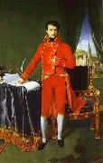 Jean Auguste Dominique Ingres Portrait of Napoleon Bonaparte, The First Council. oil painting
