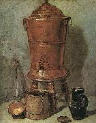 Jean Baptiste Simeon Chardin The Copper Cistern Spain oil painting reproduction