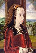 Jean Hey Portrait of Margaret of Austria Spain oil painting reproduction