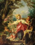 Jean Honore Fragonard Blindman's Buff oil painting picture wholesale