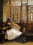 Jean Leon Gerome Arnaut smoking  8 oil painting picture wholesale