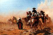 Jean Leon Gerome Napoleon and his General Staff in Egypt oil painting picture wholesale