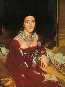 Jean-Auguste Dominique Ingres Mme.De Senonnes oil painting picture wholesale