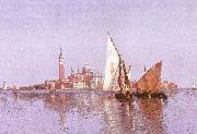 John Douglas Woodward San Giorgio Maggoire, Venice oil painting picture wholesale