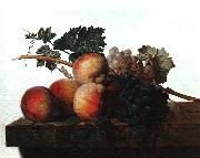 John Johnston Still Life with Fruit fhf oil painting artist