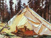 John Singer Sargent A Tent in the Rockies oil painting picture wholesale