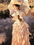 John Singer Sargent A Morning Walk oil painting picture wholesale
