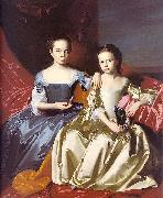 John Singleton Copley Mary MacIntosh Royall and Elizabeth Royall oil painting picture wholesale