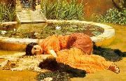 John William Godward Dolce Far Niente oil painting picture wholesale
