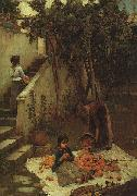 John William Waterhouse The Remorse of Nero after the Murder of his Mother oil painting picture wholesale