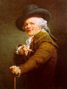Joseph Ducreux Self Portrait_10 oil painting artist