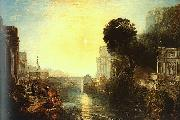 Joseph Mallord William Turner Dido Building Carthage oil