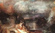 Joseph Mallord William Turner Hero and Leander oil