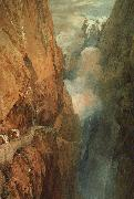 Joseph Mallord William Turner The Passage of the St.Gothard oil