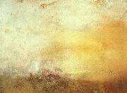 Joseph Mallord William Turner Sunrise with Sea Monsters oil