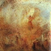Joseph Mallord William Turner Angel Standing in a Storm oil