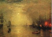 Joseph Mallord William Turner Keelman Heaving in Coals by Night oil painting picture wholesale