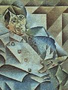 Juan Gris Portrait of Pablo Picasso oil painting picture wholesale