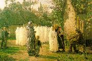 Jules Breton The Communicants Spain oil painting reproduction