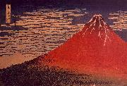 Katsushika Hokusai Mount Fuji in Clear Weather oil painting picture wholesale
