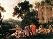 LA HIRE, Laurent de Laban Searching Jacob's Bagagge for the Stolen Idols sg oil painting picture wholesale