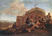 LAER, Pieter van Landscape with Morra Players sg oil painting picture wholesale