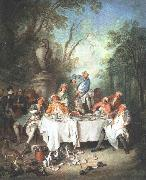 LANCRET, Nicolas Fete in a Wood s oil painting picture wholesale