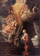 LANFRANCO, Giovanni The Annunciation y oil painting artist