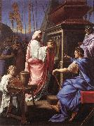 LE SUEUR, Eustache A Gathering of Friends af oil painting picture wholesale