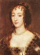 LELY, Sir Peter Henrietta Maria of France, Queen of England sf oil painting artist