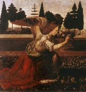 LEONARDO da Vinci Annunciation (detail) dg oil painting picture wholesale