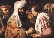 LIEVENS, Jan Pilate Washing his Hands sg oil painting artist