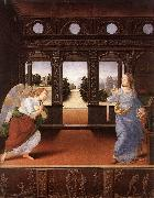 LORENZO DI CREDI Annunciation s6 oil painting artist