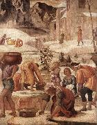 LUINI, Bernardino The Gathering of the Manna s oil painting picture wholesale