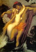 Lord Frederic Leighton The Fisherman and the Siren oil painting picture wholesale