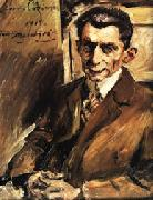 Lovis Corinth Julius Meier-Graefe oil painting