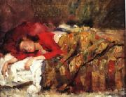 Lovis Corinth Young Woman Sleeping oil painting