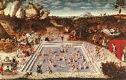 Lucas  Cranach The Fountain of Youth oil painting picture wholesale