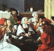 Lucas van Leyden Card Players oil painting picture wholesale