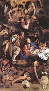 MAINO, Fray Juan Bautista Adoration of the Shepherds sg oil painting artist
