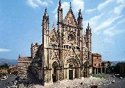 MAITANI, Lorenzo Facade of the Cathedral dh oil painting picture wholesale