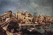 MARIESCHI, Michele The Rialto Bridge from the Riva del Vin sg oil painting picture wholesale