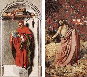 MASTER of the Aix Annunciation Prophet Jeremiah and Christ sgy oil painting picture wholesale
