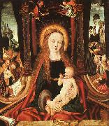 MASTER of the Aix-en-Chapel Altarpiece Madonna and Child sg oil painting picture wholesale