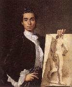 MELeNDEZ, Luis Portrait of the Artist g oil painting artist
